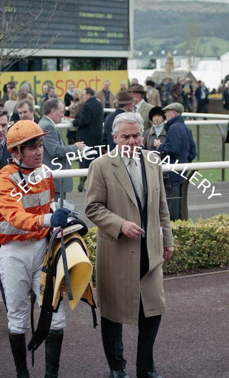 The Jockey Trainer Francois + Thiery Doumen @ Cheltenham 18th March 2004